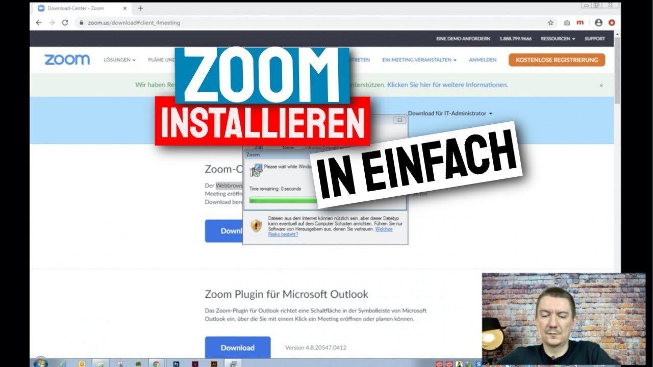 Zoom installieren – in einfachen Schritten zur Zoom Konferenz