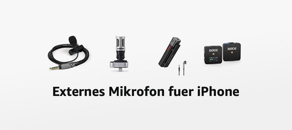 Externes Mikrofon fürs iPhone – welches sollte ich kaufen?