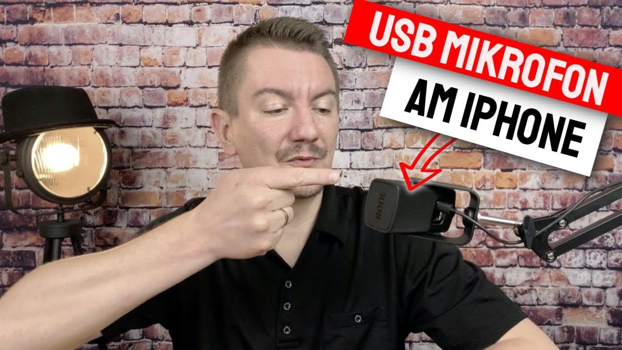 USB Mikrofon an iPhone anschließen, so geht es