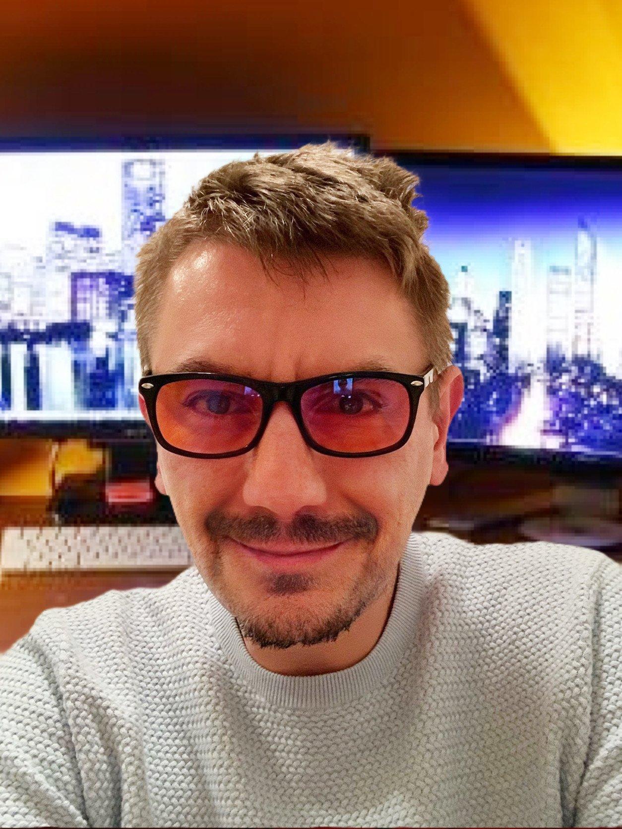 Blaulichtfilter Brille