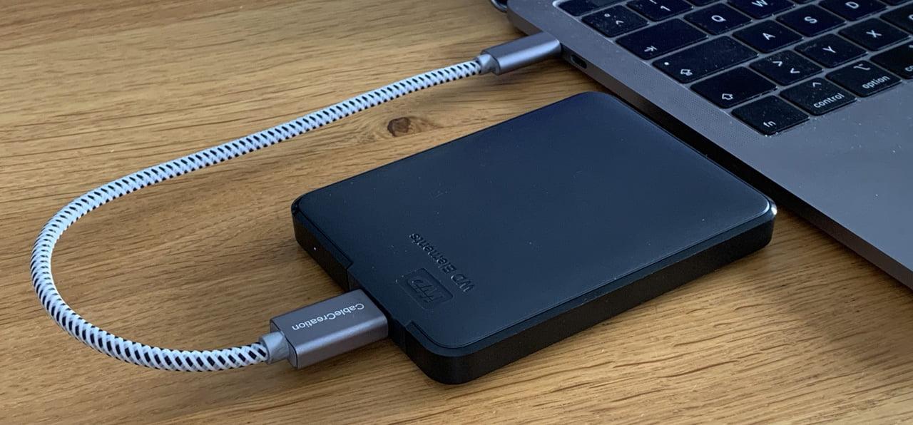 Test: WD Elements portable externe Festplatte in 2.5″ von Amazon
