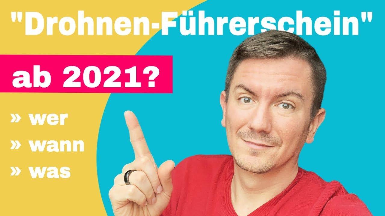 Neue EU Drohnenverordnung 2021 – das ändert sich in Deutschland ab dem 31.12.2020