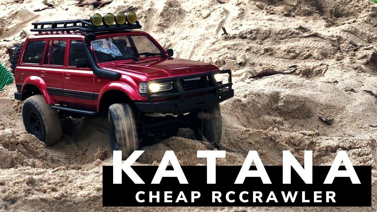 Günstiger 4×4 RC Crawler RocHobby Katana – bestes ferngesteuertes Auto zu Weihnachten