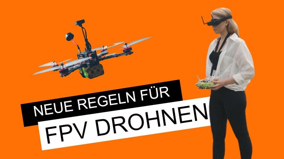 VLOS fliegen mit FPV Drohnen: was ändert die neue EU-Drohnenverordnung?