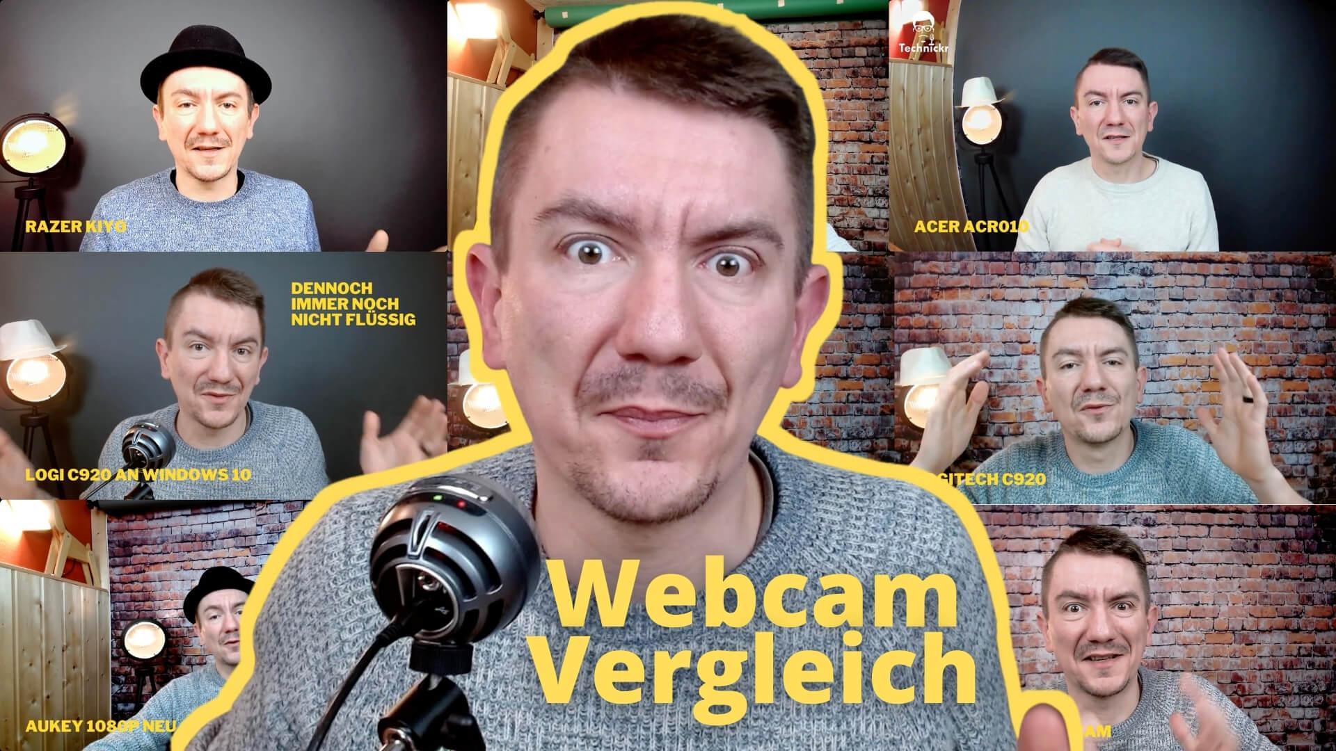 7 aktuelle Webcam für Videokonferenzen im Test, nur 1 klarer Sieger!