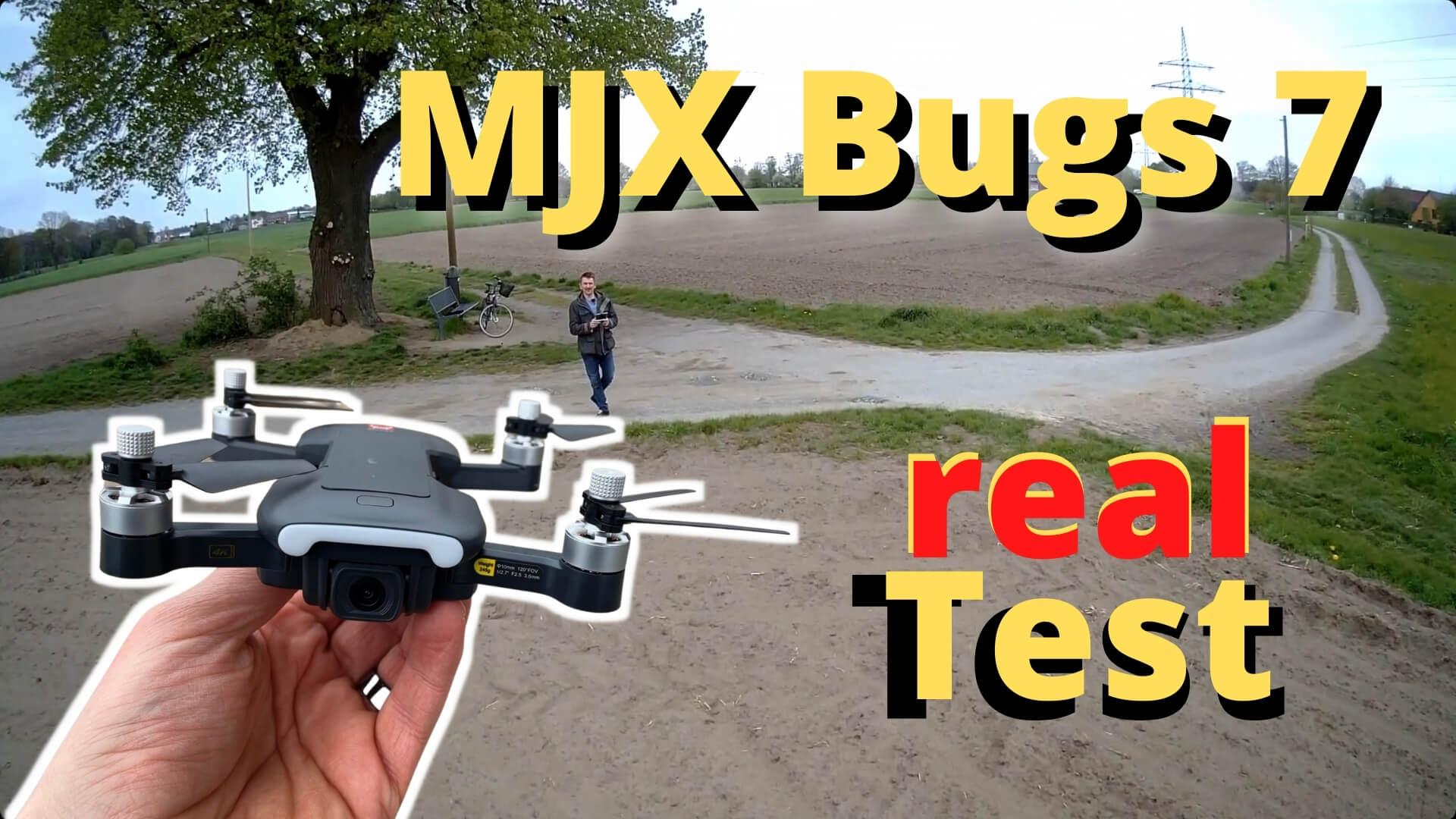MJX Bugs 7 B7 4K GPS Drohne im Test