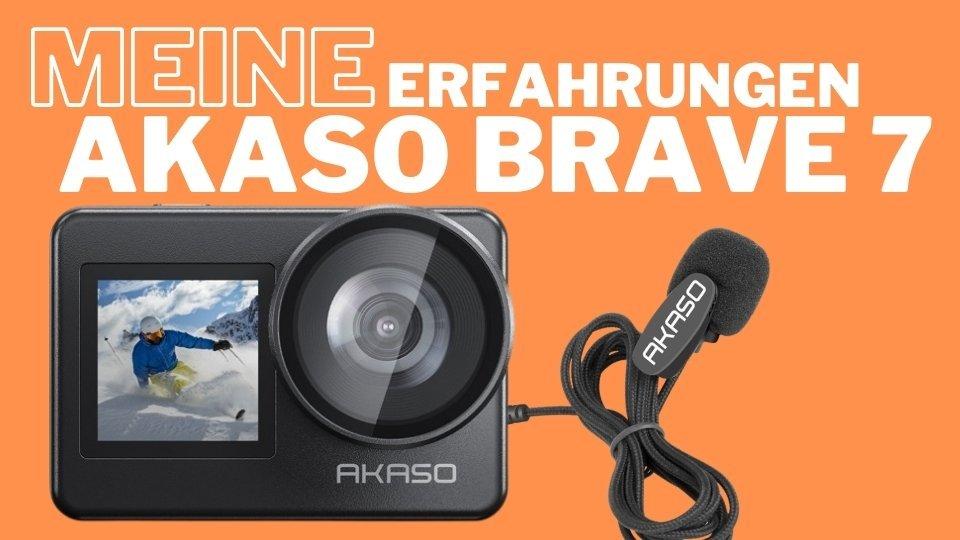 Meine Erfahrungen mit der Akaso Brave 7 Actioncam