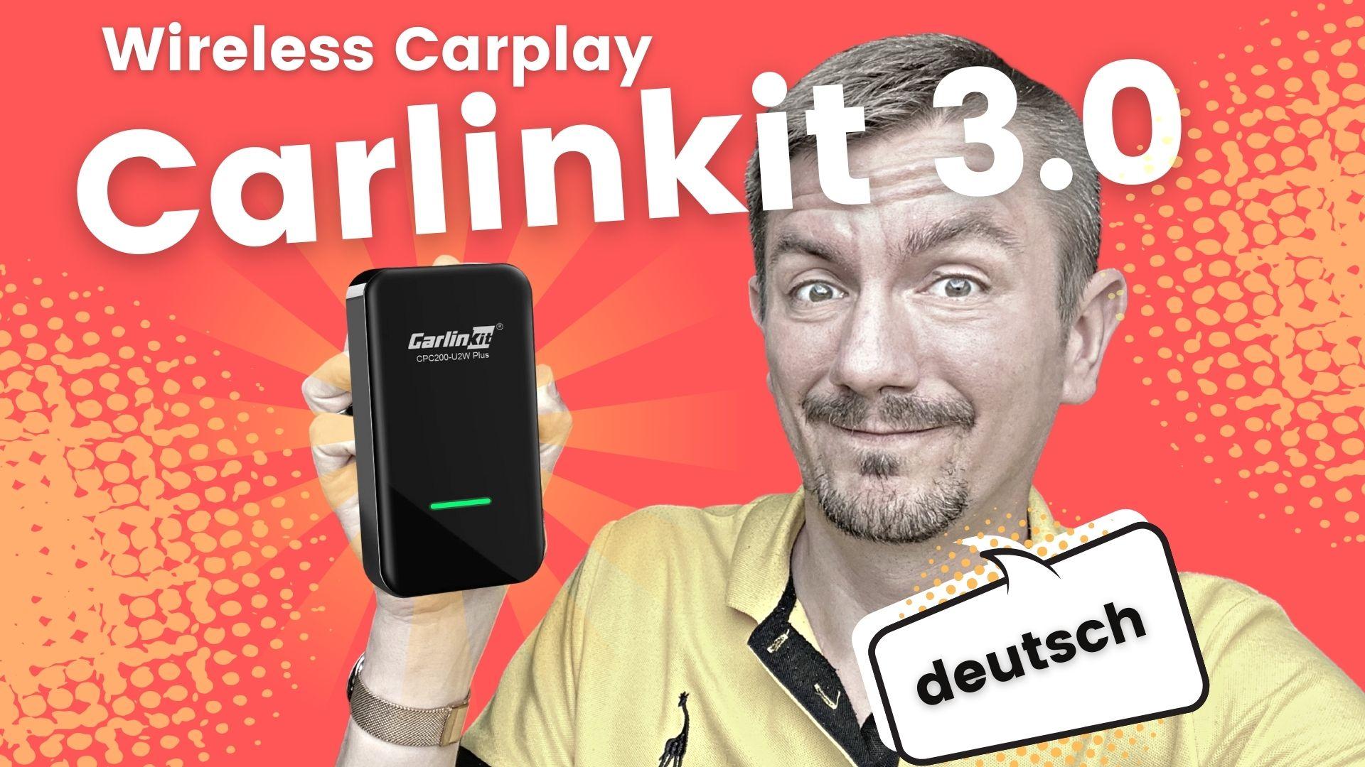 Carlinkit 3.0 Wireless CArplay Adapetr Dongle